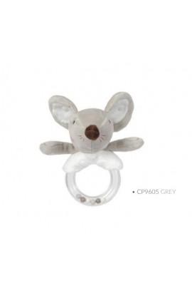 Sonajero Mouse gris