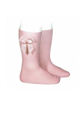 Calcetin rosa palo