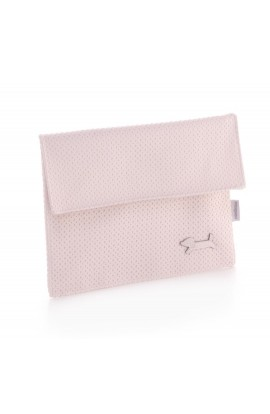 Portadocumentos rosa