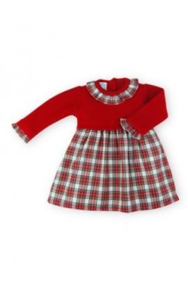 Vestido bebe invierno 256RJ