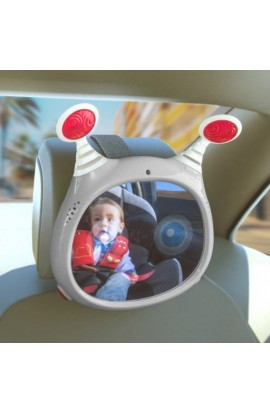 Espejo retrovisor bebes musical