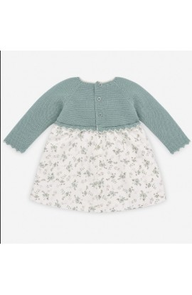 Vestido bebe invierno 30804VR