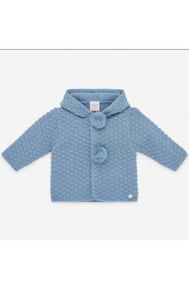 Chaqueton bebe capucha 30955AZ