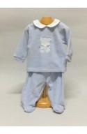 Pijama bebe invierno 19103AZ