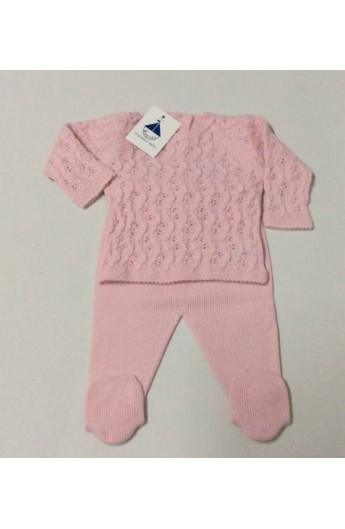 d48a2c041 Conjunto bebe invierno en color rosa